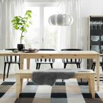 : ikea dining room table bench suitable with ikea dining room table black