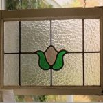 : large stained glass window hangings