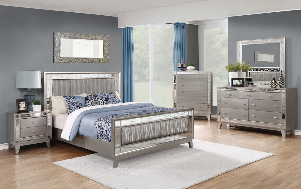 mirrored headboard bedroom furniture suitable with horchow ...