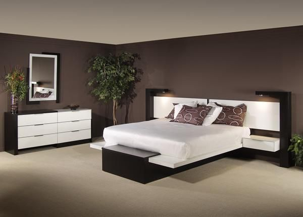 modern bedroom furniture collections