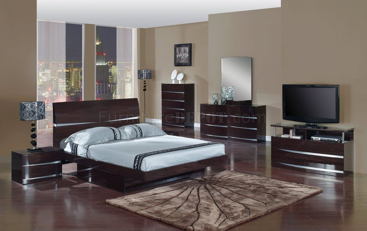 modern bedroom furniture colors