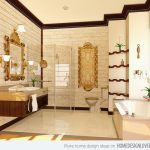 : modern classic bathroom designs