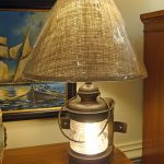 : nautical bedside table lamps also nautical rope table lamps