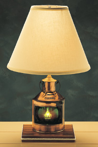 nautical electric table lamps also nautical table lamp for nursery