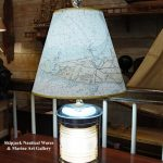: nautical floor lamps with table also nautical hurricane table lamps