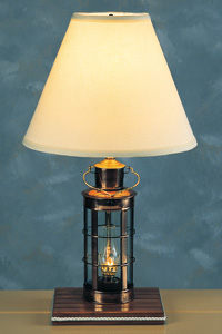 nautical glass table lamps also nautical end table lamps