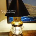 : nautical table lamp shades also small nautical table lamps