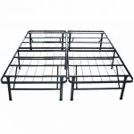 : noble king size black metal bed frame suitable with black metal king single bed frame suitable with box spring platform metal bed frame foundation king
