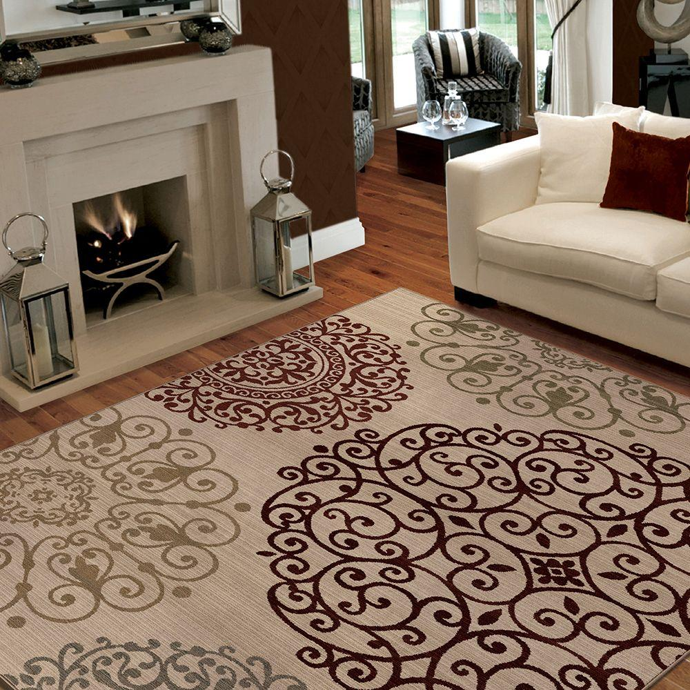Proper Size Area Rug For Living Room Suitable With Red Area Rugs For
