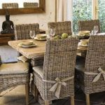 : rattan dining table and chairs suitable with wicker dining room table and chairs