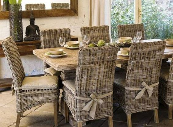 rattan dining table and chairs suitable with wicker dining room table and chairs