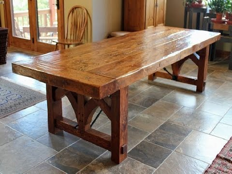Good Farmhouse Dining Room Table