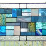 : stained glass window hangings birds