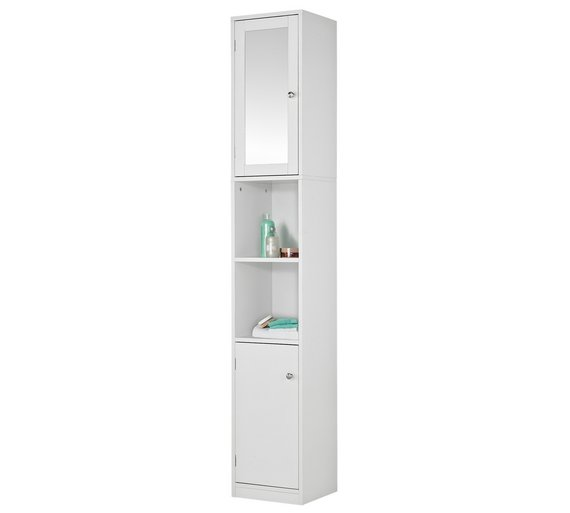 Tall Bathroom Cabinet With Hamper Also