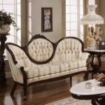 : victorian leather living room furniture