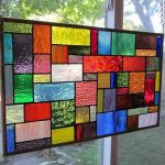 : victorian stained glass window hangings