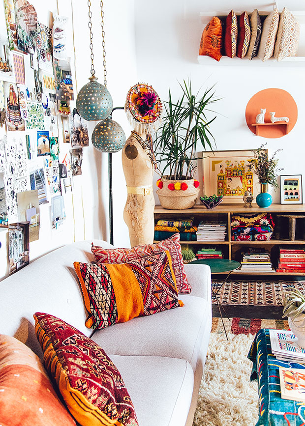 Good Ideas of Bohemian Living Room