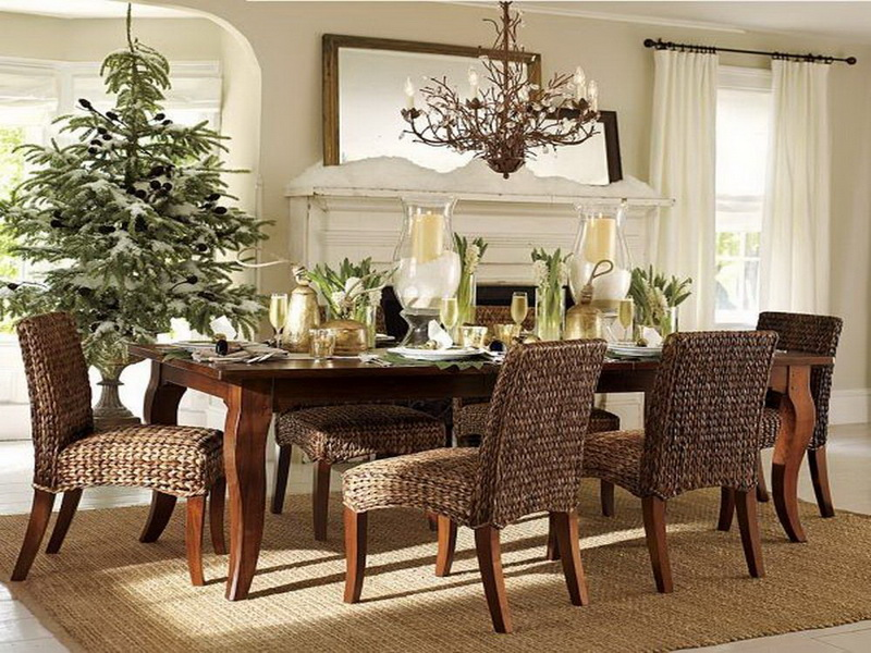 Wicker Dining Room Chairs Indoor, Wicker Dining Room Chairs Indoor