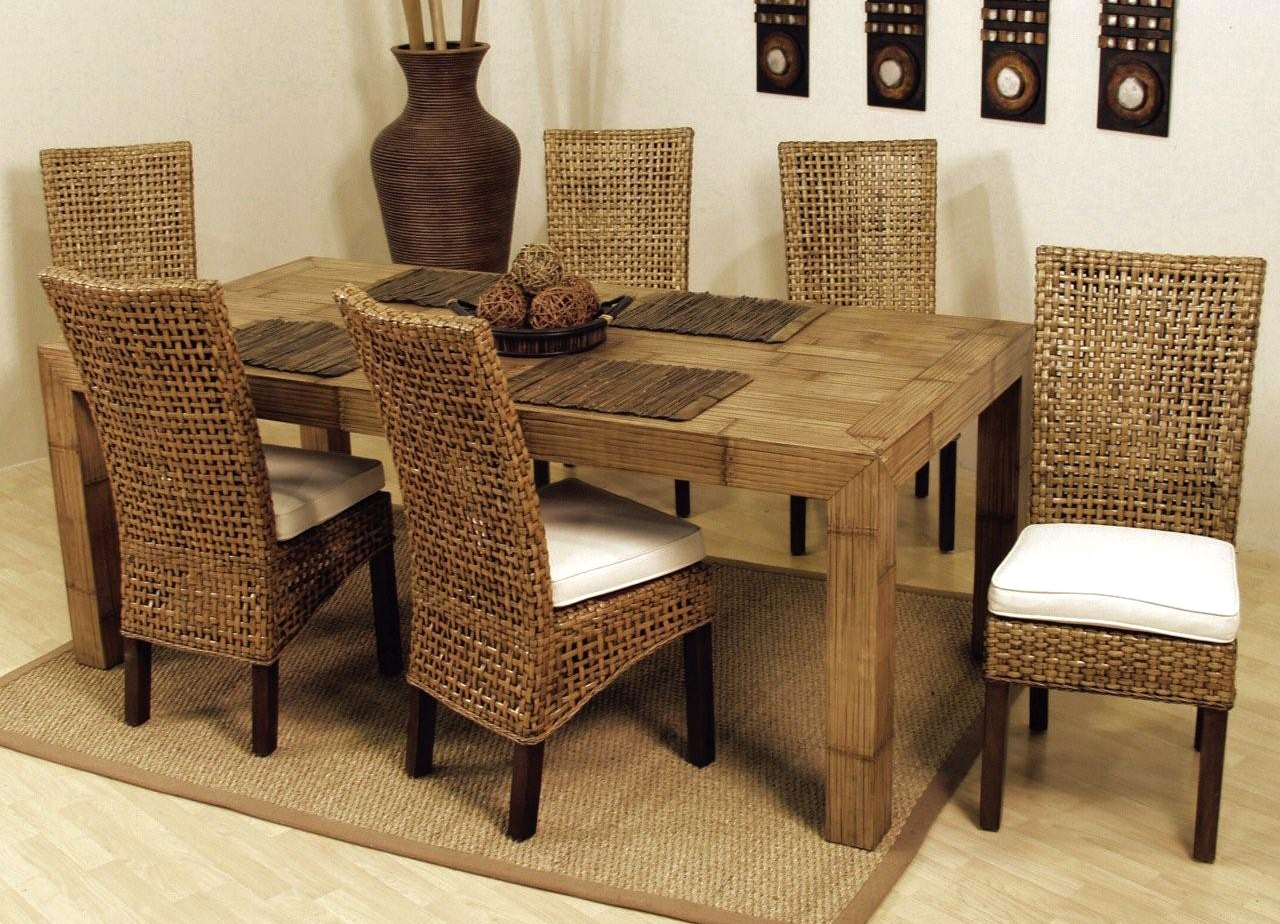 Wicker Dining Room Chairs Ikea Suitable With Indoor