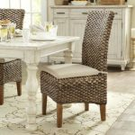 : wicker indoor dining table and chairs suitable with antique wicker dining room chairs
